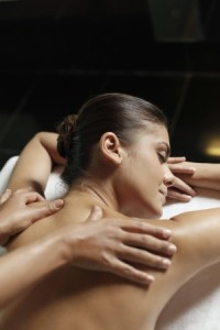 Schulter Massage